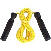Corda Pular Everlast Com Rolamento Amarela - Boxe