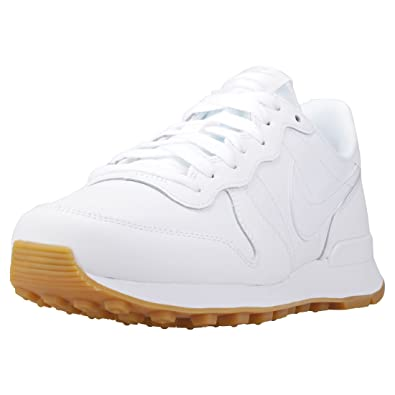 Marques Chaussure femme Nike femme Wmns Internationalist White/White-White-Gum Light Brown