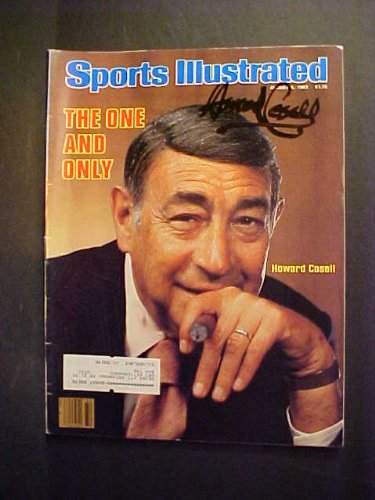 Howard Cosell Autographed August 8, 1983 Sports Illustrated Magazine