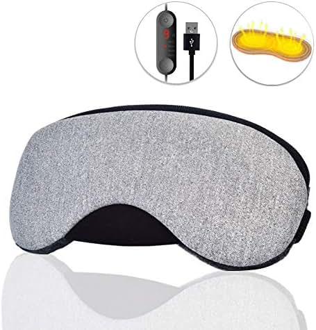 Dr. Prepare Eye Mask, USB Heated Eye Mask Warmer