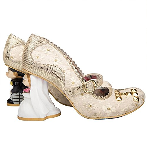 Irregular Choice I Love You Or Rétro Vintage Character Talons Chaussures Mariage