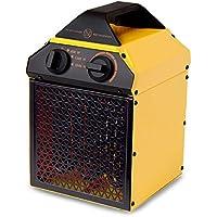Goldair GIFH200 Industrial Fan Heater, 2000W, Yellow