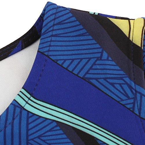 LaceLady Vintage Tea Blue Sleeveless Boatneck Swing Pleated Belt Party Dress q15qvwr