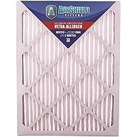 AirShield 20001-202-0027 Ultra-Allergen MERV 13 Superfine Furnace Filters (2 Pack), 16 x 20 x 1