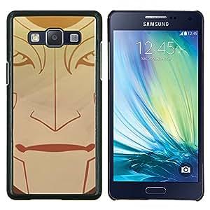 TECHCASE---Cubierta de la caja de protección para la piel dura ** Samsung Galaxy A5 ( A5000 ) 2014 Version ** --Cara tribal