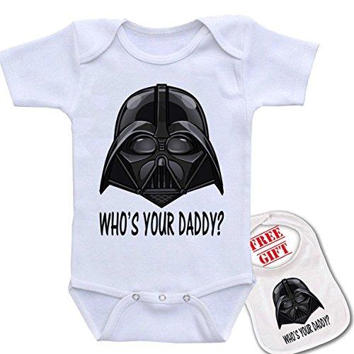 Daddy Darth bodysuit onesie matching