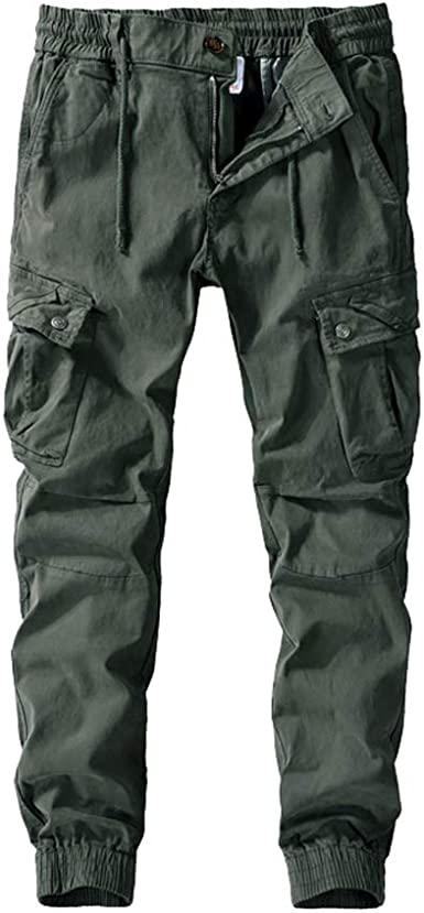 Mens Knee Pad Pockets Action Trouser Adults Walking Hiking Casual Workwear Pants