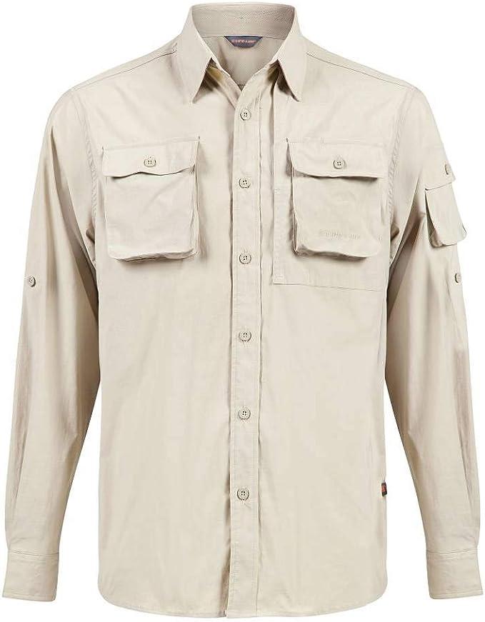 TUCUMAN AVENTURA -Camisa Hombre Proteccion Anti Mosquitos (S): Amazon.es: Deportes y aire libre