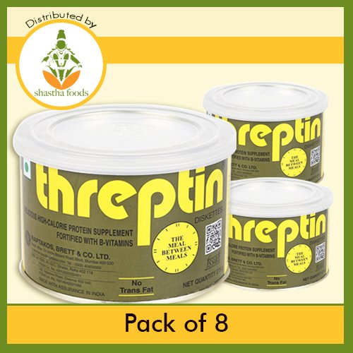 Threptin - Regular (Pack of 8) Each 275 Grams by Shastha Foods (Image #1)