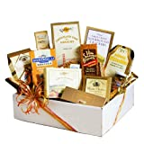 Golden State Gourmet Gift Box | Cheese Spread, Crackers, Nuts, Olives, Chocolate and More