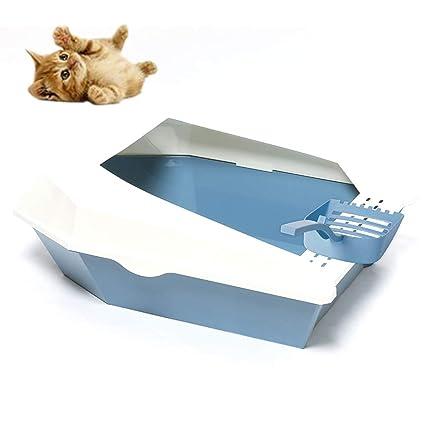 PETMAOSHP Bandeja Gatos Gatitos Aseo Arenero para Mascotas ...