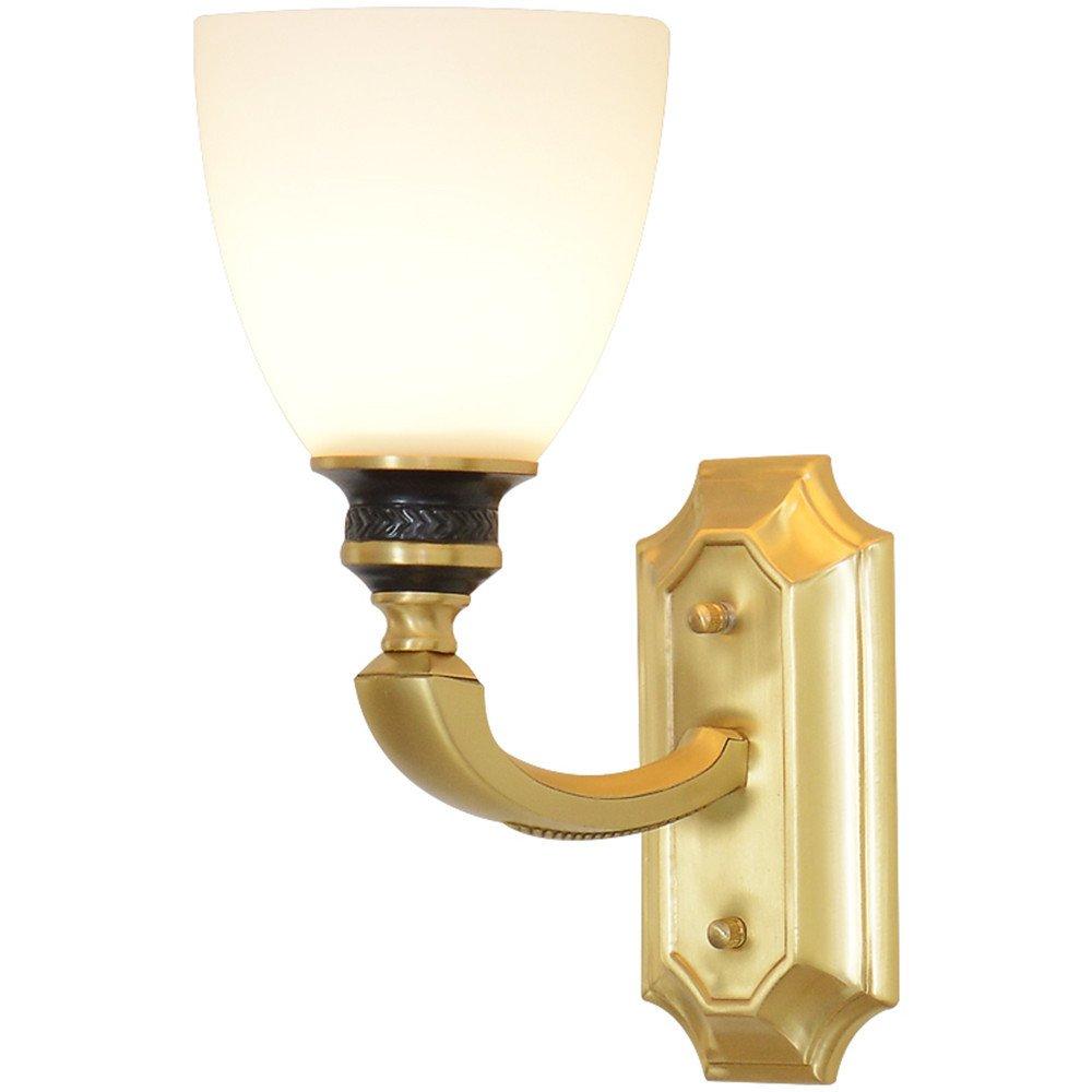 Wandleuchte Wohnzimmer Innenbeleuchtung Dekoration American Kupfer Lampe Wandlampe