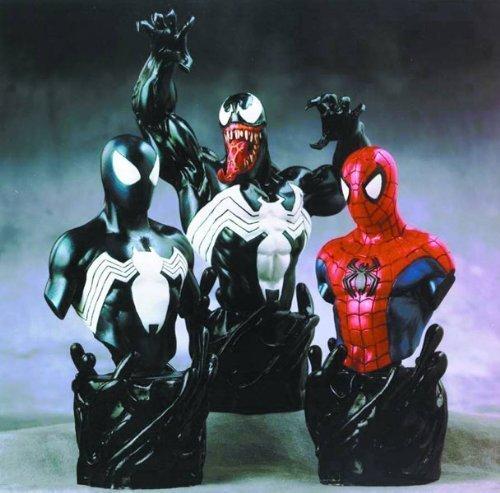 Spider-Man: Venom Mini Busts Triple Pack by Bowen Designs!