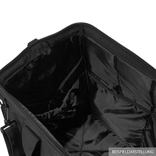 voyage tailles Sac choix M couleur Reisenthel et CB 0593 de dimensions L de tous noir usages au sport Noir rot S punkte et Xwad8w