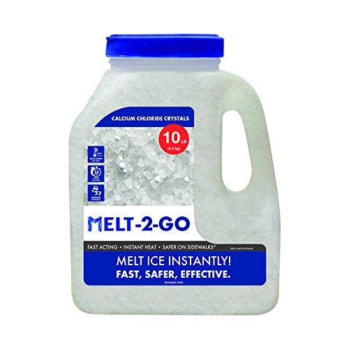 Snow Joe AZ-10-CC-JUG Melt 2 GO Ice Removal, 10 lb Jug