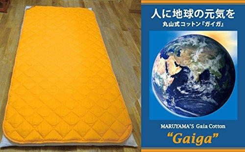 丸山式 地磁気パット ガイガ Gaiga ベットパット シングルサイズ B00VUDRI8S