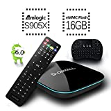 [Free Mini Keyboard] 2017 Model Globmall Android 6.0 TV Box, X2 Android TV Box Amlogic S905X 64 ...