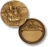 CH-47 Chinook Engravable Challenge Coin