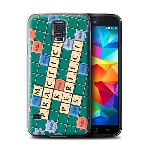 Coque de Stuff4 / Coque pour Samsung Galaxy S5 Mini / Pratique Parfaite Design / Mots de Scrabble Collection
