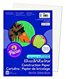 Pacon SunWorks Construction Paper is perfect for arts and crafts, school projects and more. This heavyweight groundwood construction paper provides the best value in school grade construction paper. The bright, consistent colors ensure that you'll al...