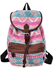 Douguyan Lightweight Backpack for Teen Young Girls Cute Backpack Print Rucksack