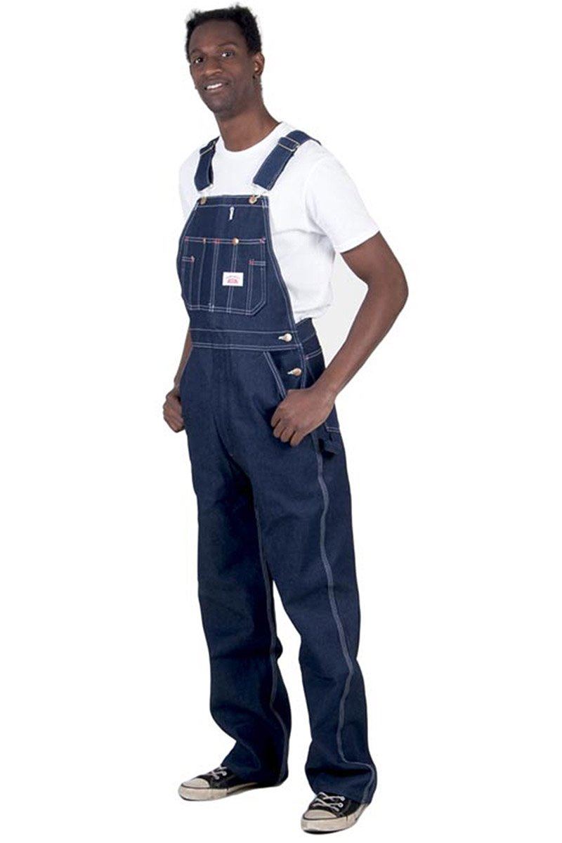 Round House Low Back Dungarees Mens Work Dungarees American Bib Overall Roundhouse