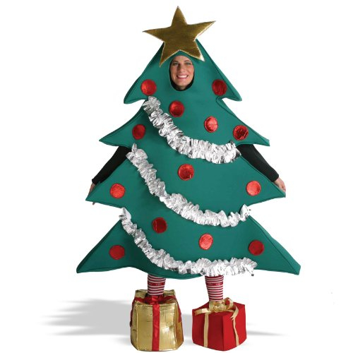 [Adult Christmas Tree Costume with Presents for Shoes] (A Present Costume)