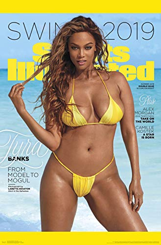 (Trends International 2019 Sports Illustrated Swimsuit Edition - Tyra Cover Wall Poster, 22.375