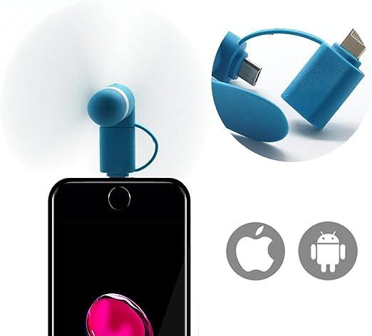 Mini USB Eléctrica Ventilador,Ventilador de Bolsillo alimentado ...