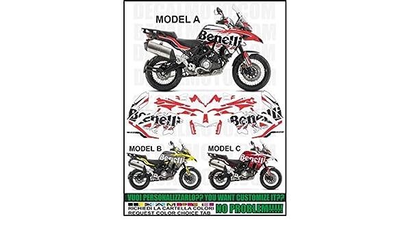 Kit adesivi Decal stikers compatibili TRK 502 Sign: Amazon.es: Coche y moto