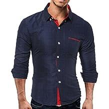 Man Shirt Plus Size,WM&MW Mens Casual Long Sleeve Button Polka Dot Slim Fit Shirt Business Tops