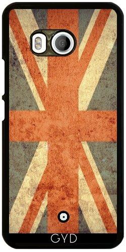 Funda para Htc U11 - Grunge Bandera Del Reino Unido by Warp9