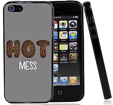 Hot Mess Cheetah Print Case / Cover For The Iphone 5G / 5S / Iphone SE (2016) By Atomic Market By Atomic (Iphone 5 Cases Cheetah)