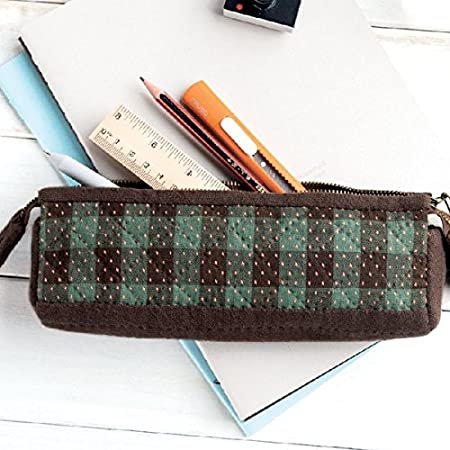 Kit Patchwork estuche porta lápices multiusos (cierre con cremallera): Amazon.es: Hogar