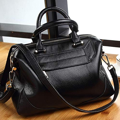 Shell Female Oblique Baotan B Fashion Cowhide Shoulder Lady Leather Woman Cross Bag Hongge xPgCn1waqq
