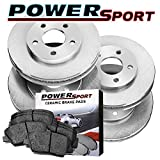hummer h3 brake pads - Full Kit Replacement Brake Rotors and Ceramic Brake Pads 2006-2010 Hummer H3,H3T