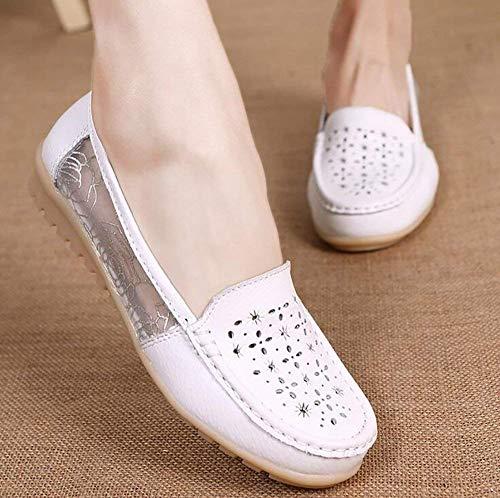 Chaussures Femmes Sandales Eu6 Pour Plates B Conduite Eu36 Fuxitoggo Cn36 Uk4 En Cuir De Sport pwqxECdCFt