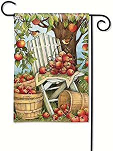 Apples Galore Garden Flag Garden Flag Designed by Yerkes