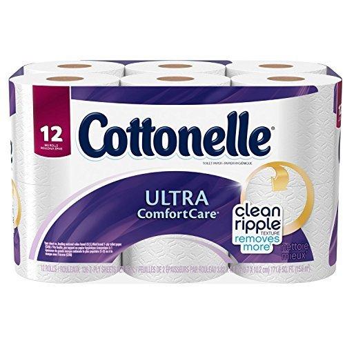 Cottonelle sRaNF Ultra Comfort Care Big Roll Toilet Paper, 48 Count