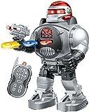 Babytintin Walking Robot with Fires Discs, Dances, Talks - Super Fun Robot Multi Color