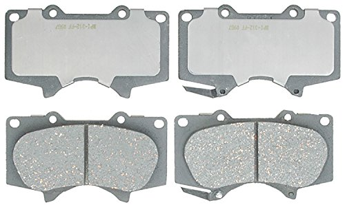 ACDelco 14D976CH Advantage Ceramic Front Disc Brake Pad Set ()