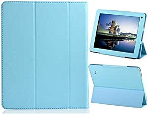 "CECT STOCK Tri-Fold cámara de doble caja protectora para Hole 9,7 ""Tablet PC (Azul)"