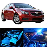 2015 chevy cruze accessories - CCIYU 11 Pack Ice Blue LED Bulb LED Interior Lights Accessories Replacement Package Kit For 2014-2016 Chevy Cruze