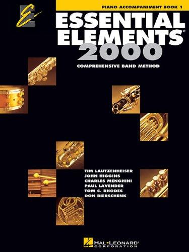 Download Essential Elements 2000: Piano Accompaniment Book 1 pdf
