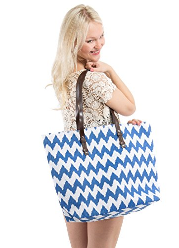 Beach Bags and Totes - Beach Tote for Women Made From Durable Canvas by Pier 17