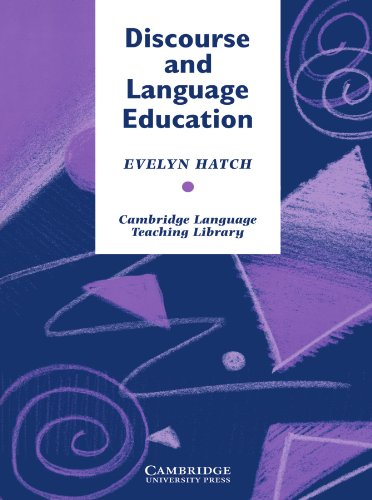 Discourse and Language Education (Cambridge Language Teaching Library) by Brand: Cambridge University Press