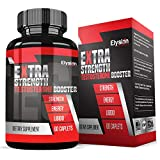 Extra Strength Testosterone Booster for Men (60 Caplets) - Natural Stamina, Endurance
