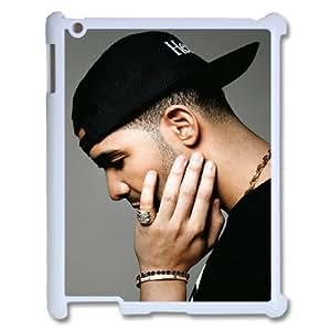 Unique Phone Case Design 20Rap Rap Singer Drake Pattern- For Ipad 2/3/4 Case