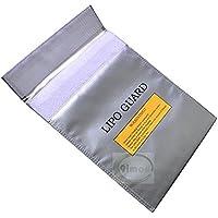 UUMART Fireproof Explosion-proof Bag RC Lipo Battery Safe Bag Multifunctional Protection Bag File Protection Bag 300230mm