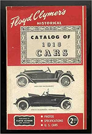 Ilmaiset äänikirjat latauksia varten Floyd Clymer's Historical Catalog of 1918 Cars B000JLCGBQ PDF